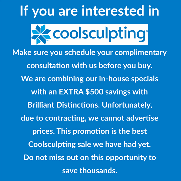 Coolsculpting Saving $500 in Cleveland OH