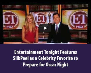 Entertainment Tonight Features SilkPeel for Celebrity