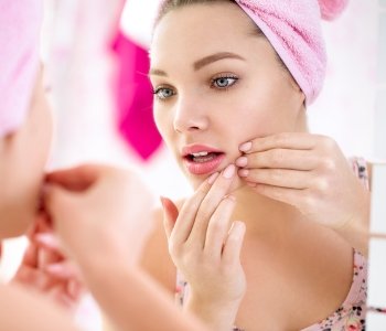 What acne treatment options are available to patients in the Cleveland area?