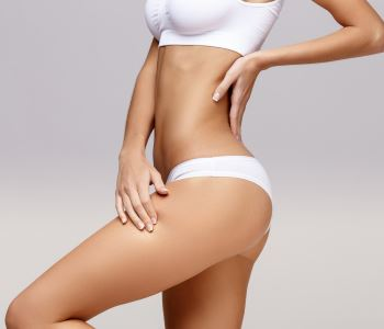 patient's body after coolsculpting treatment
